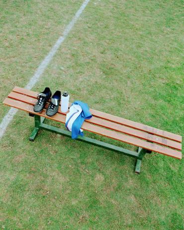 Bench「Soccer boots on bench」:スマホ壁紙(7)