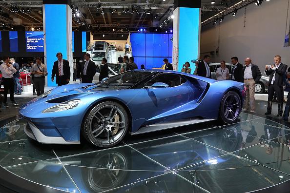 Ford GT「2015 IAA Frankfurt Auto Show」:写真・画像(8)[壁紙.com]