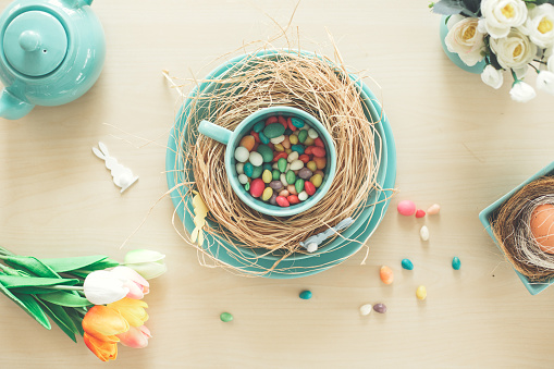 Easter「Spring and Easter table decor」:スマホ壁紙(6)