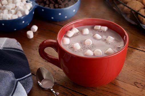 Cocoa「Mug of Hot Chocolate and Marshmallows」:スマホ壁紙(3)