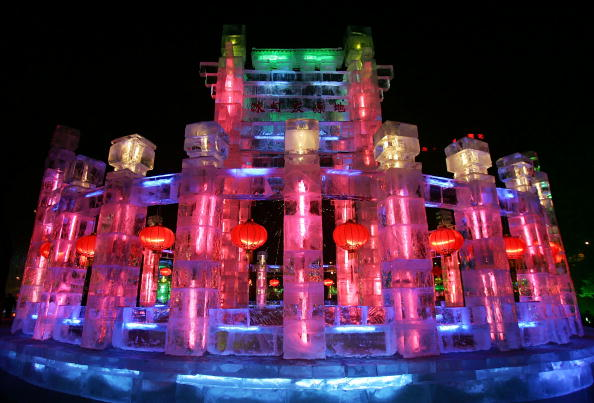 Harbin Ice Festival「Annual Harbin Ice Festival Kicks Off」:写真・画像(18)[壁紙.com]