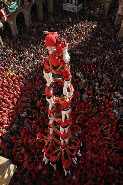 In Catalonia Human Towers Are A Symbol Of National Heritage:ニュース(壁紙.com)