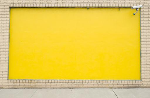Brick Wall「Exterior wall painted yellow」:スマホ壁紙(5)