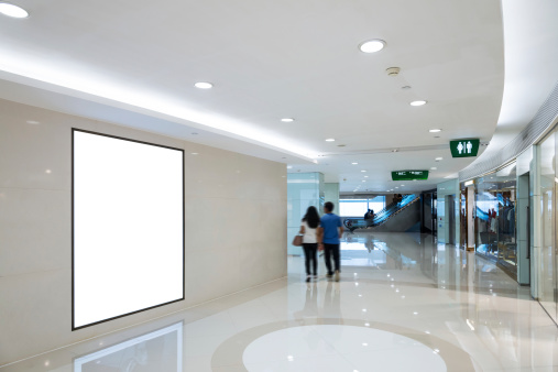 Banner - Sign「interior of shop mall」:スマホ壁紙(15)