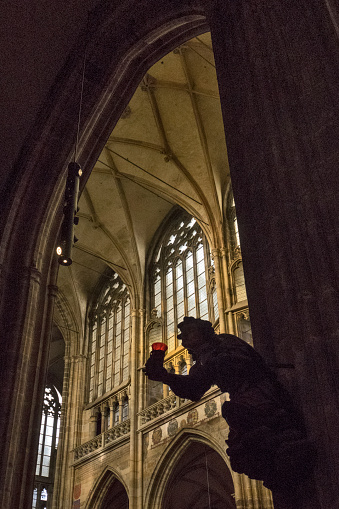 St Vitus's Cathedral「Interior of St Vitus Cathedra, Prague」:スマホ壁紙(13)