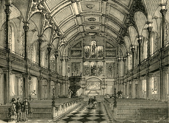 Bench「Interior Of St Andrews Church C」:写真・画像(19)[壁紙.com]