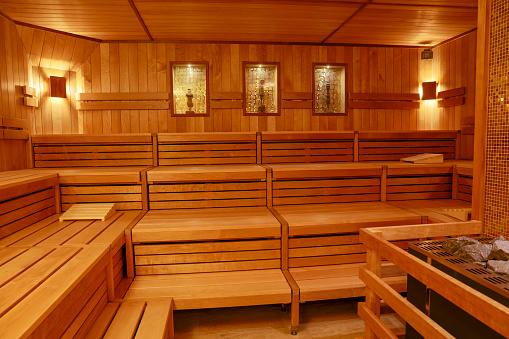 Germany「Interior of a sauna」:スマホ壁紙(8)
