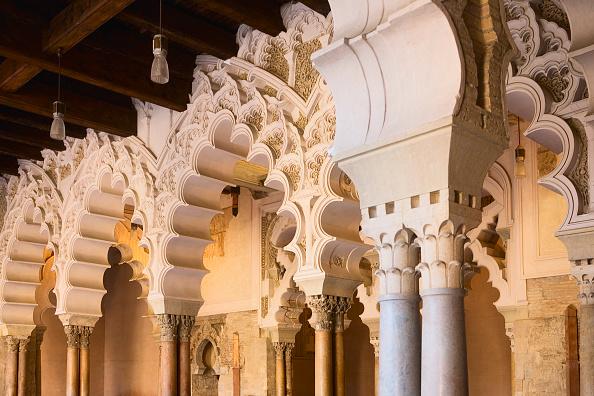Travel Destinations「Interior of 11th Century Aljaferia Palace, Zaragoza, Spain」:写真・画像(5)[壁紙.com]