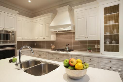 Fruit Bowl「Interior of luxury kitchen in North America」:スマホ壁紙(5)