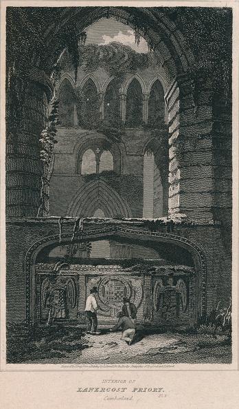 Overgrown「Interior of Lanercost Priory. Cumberland, 1814」:写真・画像(17)[壁紙.com]