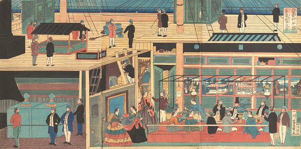 Passenger Craft「Interior Of An American Steamship」:写真・画像(7)[壁紙.com]