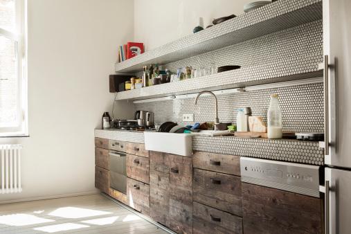 スイセン「Interior of kitchen」:スマホ壁紙(1)