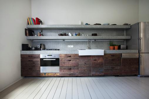 キッチンカウンター「Interior of kitchen」:スマホ壁紙(16)