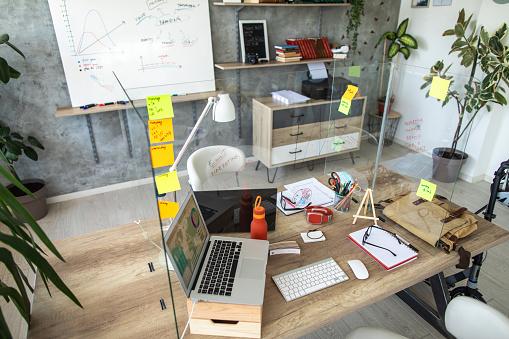 Small Office「Interior of small, modern office」:スマホ壁紙(11)