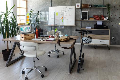 Small Office「Interior of small, modern office」:スマホ壁紙(16)