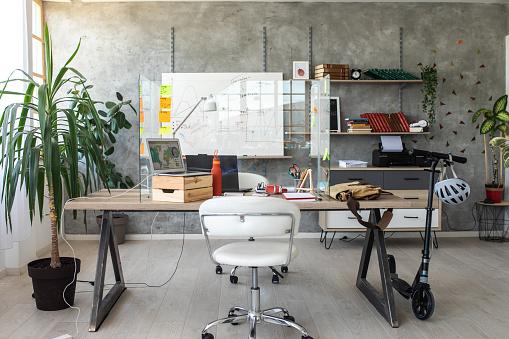 Small Office「Interior of small, modern office」:スマホ壁紙(3)