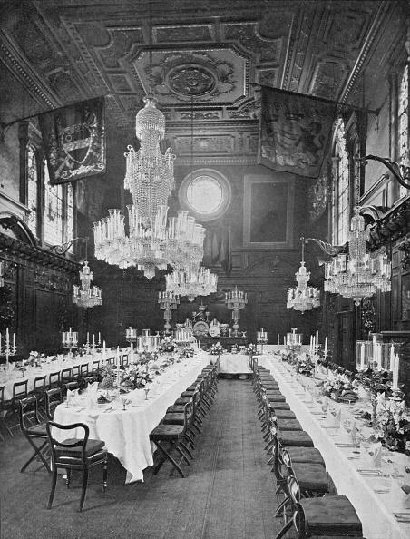 Ceiling「Interior of Mercers' Hall, City of London, c1910 (1911)」:写真・画像(0)[壁紙.com]