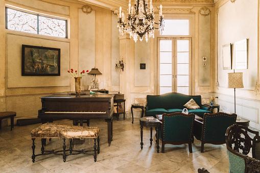 Antique「Interior of Colonial Villa in Havana」:スマホ壁紙(19)