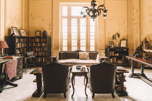 Cuba「Interior of Colonial Villa in Havana」:スマホ壁紙(2)
