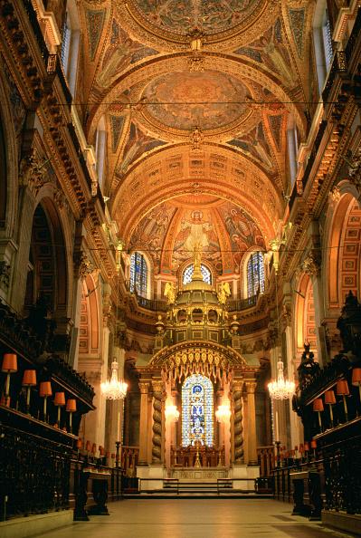 Tim Graham「Interior of St Paul's Cathedral, London」:写真・画像(17)[壁紙.com]