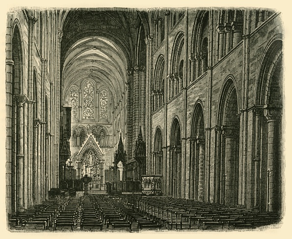 Ceiling「Interior Of Chichester Cathedral」:写真・画像(1)[壁紙.com]