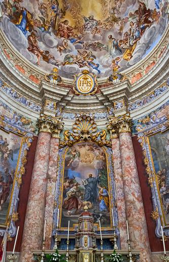 UNESCO「Interior of Church of St Blaise (St Blasius)」:スマホ壁紙(11)