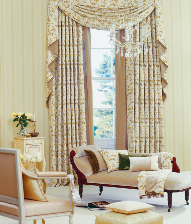 Chaise Longue「Interior of beautiful classical living room」:スマホ壁紙(4)