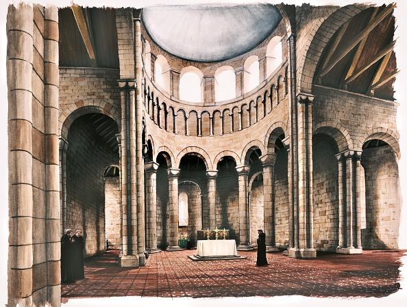 Religion「Interior Of Battle Abbey Church」:写真・画像(14)[壁紙.com]