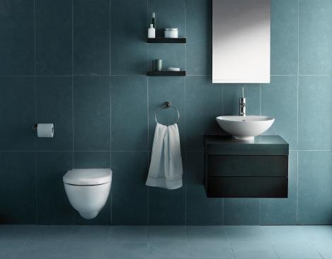 浴室「内側にトーンのバスルームの冷たい」:スマホ壁紙(14)
