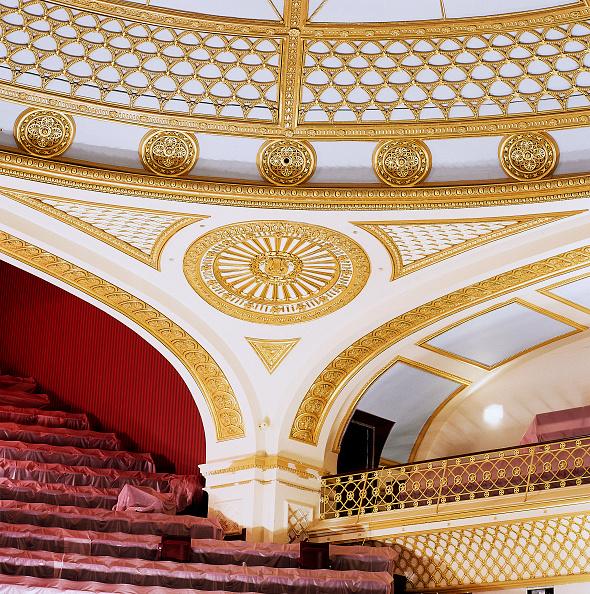 Ceiling「Interior of Royal Opera House Covent Garden, London, United Kingdom」:写真・画像(10)[壁紙.com]