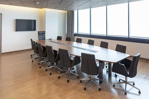 Convention Center「Interior of modern meeting room」:スマホ壁紙(7)