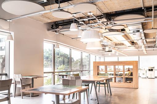 Open Plan「Interior of modern office empty」:スマホ壁紙(8)
