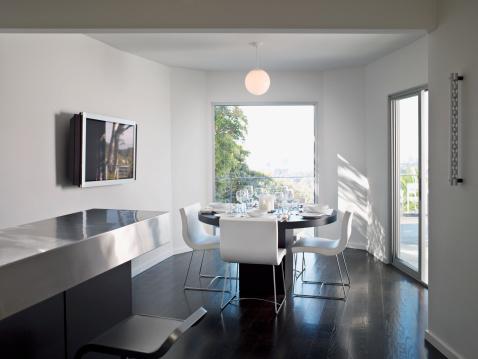 City Of Los Angeles「Interior of modern dining room」:スマホ壁紙(15)