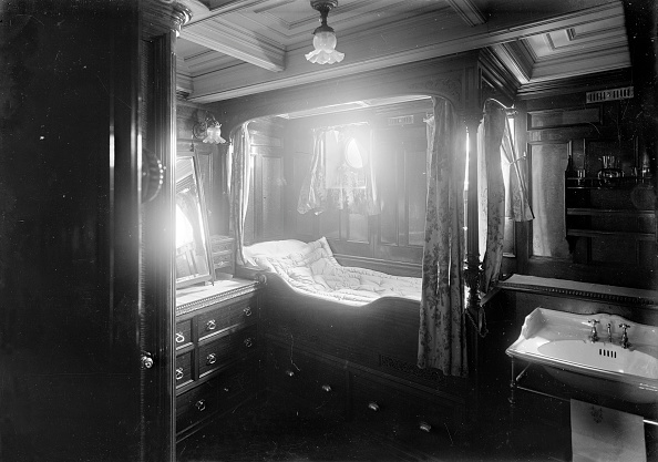 Edwardian Style「Interior Of Midships Cabin On Steam Yacht Venetia」:写真・画像(10)[壁紙.com]