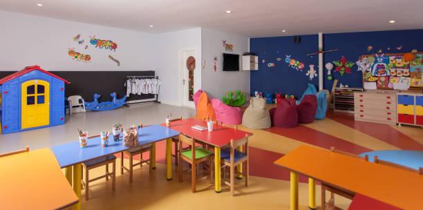 Interior of preschool kindergarten:スマホ壁紙(壁紙.com)