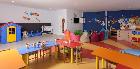 Art「Interior of preschool kindergarten」:スマホ壁紙(14)
