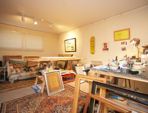 アート「Interior of art studio」:スマホ壁紙(8)