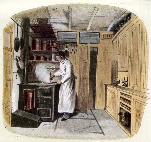Kitchen「Royal Russian railway, 1864: kitchen」:写真・画像(11)[壁紙.com]