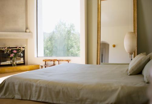 California「Interior of modern bedroom」:スマホ壁紙(13)