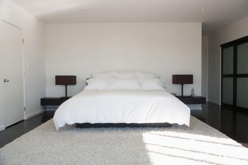 Relaxation「Interior of modern bedroom」:スマホ壁紙(16)
