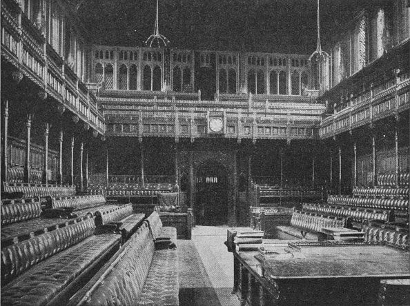 Bench「Interior of the House of Commons」:写真・画像(15)[壁紙.com]