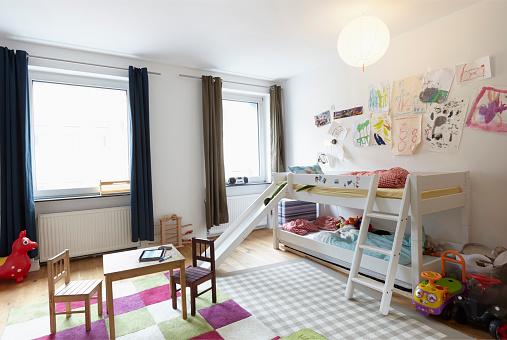 子供「Interior of childrens room」:スマホ壁紙(15)