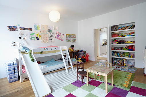 子供「Interior of childrens room」:スマホ壁紙(2)