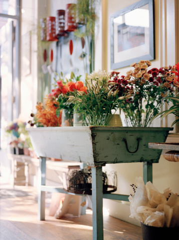 Flower Shop「Interior of florist shop」:スマホ壁紙(9)