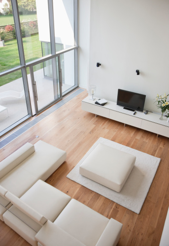 Living Room「Interior of modern living room」:スマホ壁紙(1)