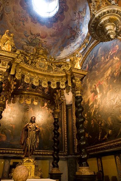 Architectural Column「Interior of Cathedral, Zaragoza, Spain」:写真・画像(8)[壁紙.com]