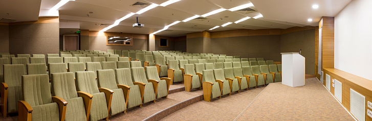 Education Training Class「Interior of a conference hall」:スマホ壁紙(3)