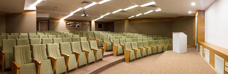 Workshop「Interior of a conference hall」:スマホ壁紙(6)