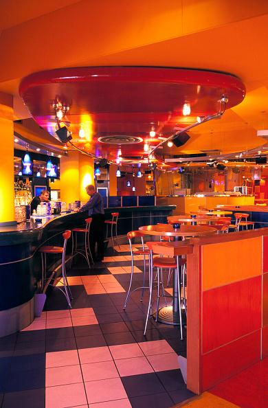 Multi Colored「Interior of modern bar.」:写真・画像(18)[壁紙.com]
