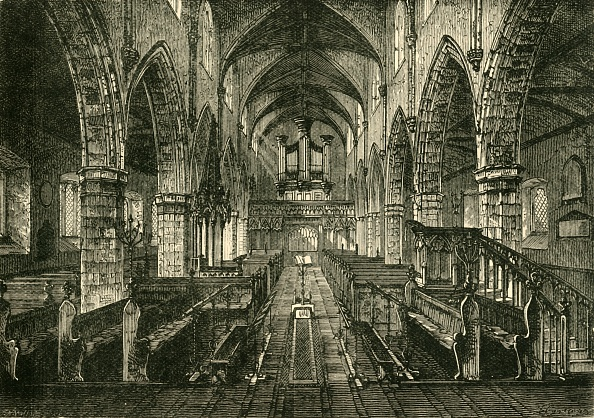 Ceiling「Interior Of Londonderry Cathedral」:写真・画像(18)[壁紙.com]